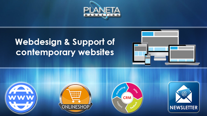 Webdesign and support